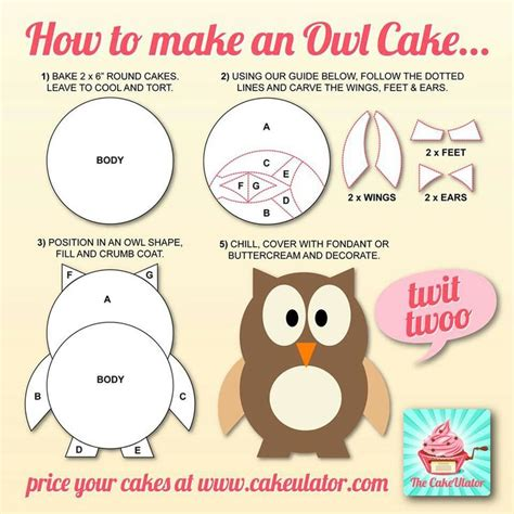 How To Make A Birthday Cake Out Of Paper - how to make an owl cake oh my owl