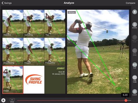 best golf swing apps save time on golf video analysis with swing profile golf