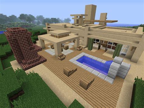 Backyard Ideas In Minecraft Modern Desert Home Minecraft Project