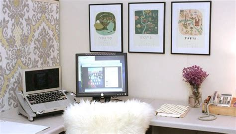how to decorate office how to decorate your office wayfair this is a cubicle fabric pinned to padded cubicle