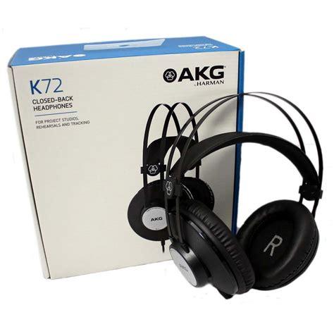 akg k72 closed back headphones