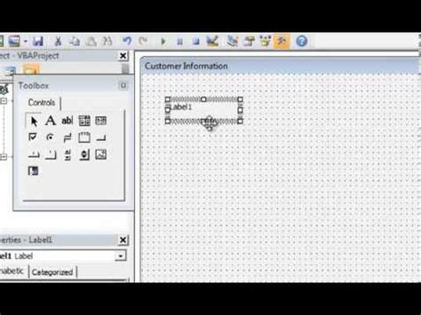 vba tutorial excel 2010 youtube excel 2010 vba tutorial 9 intro to user forms part 1 of 2