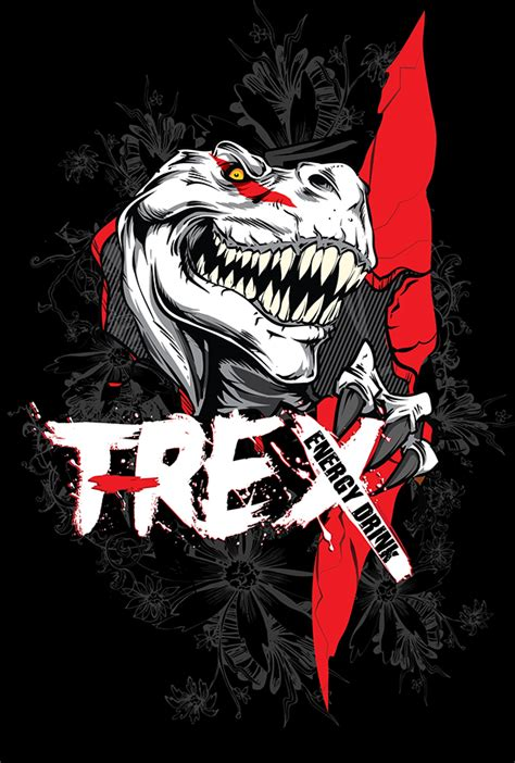 t rex energy drink t rex energy drink logo packaging 3d visualisation on