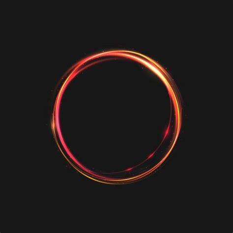circle light for light circle effect background vector 05 free