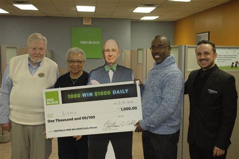 H R Block Giveaway - local resident wins h r block giveaway northside chronicle