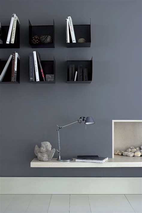 bureau gris anthracite inspiration de peintures murales d int 233 rieurs color 233 s