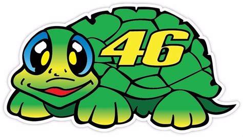 L1215 Topi Trucker Vr 46 The Doctor Motogp Kode Pl1215 7 valentino 46 turtle tartaruga vinyl decal sticker ebay