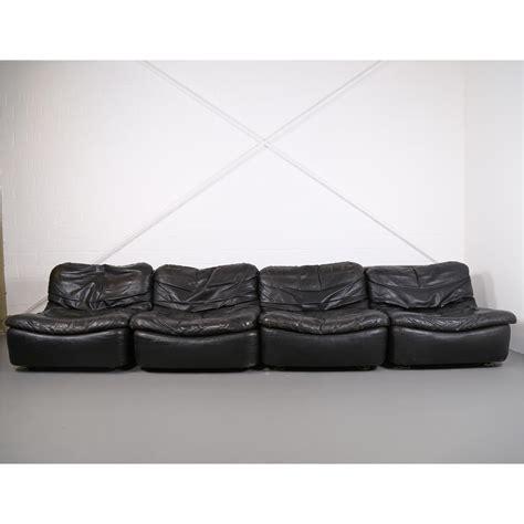 ledersofa vintage vintage modular leather sofa from dreipunkt international