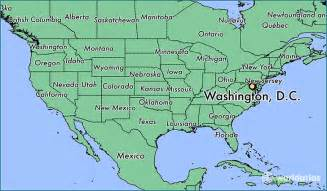 us map showing washington dc where is washington d c dc where is washington d c