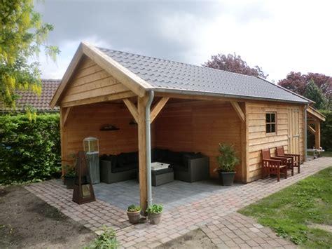 schuur tuin houten schuur bouwen op maat gemaakt hout bouw wereld