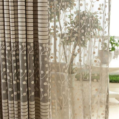 window net curtains jacquard flower pattern net curtains for window