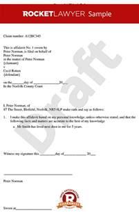 Template Of An Affidavit by Affidavit Form Create Free General Affidavit Template