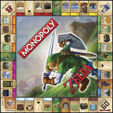 legend of zelda monopoly map monopoly the legend of zelda commentseruiner