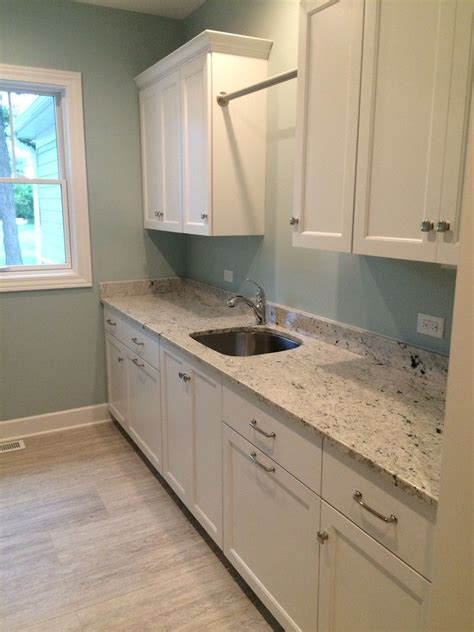 White Granite Bathroom by Colonial White Granite White Cabinets Color Home Decor