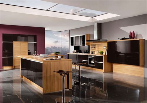 high gloss kitchen designs galaxy midnight high gloss kitchen design stylehomes net
