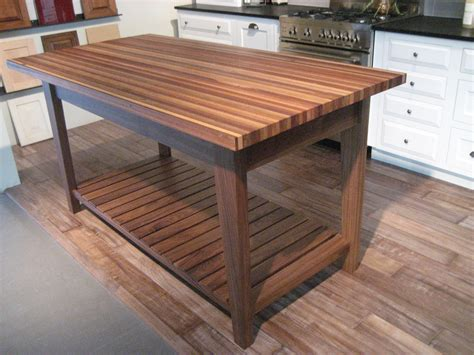 how to build a simple kitchen island simple rustic kitchen island table walnut american style