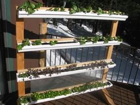 Vertical Garden Planters Diy - vertical gutter gardens peak prosperity