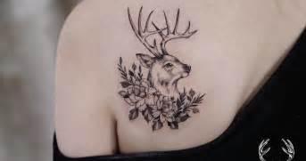 40 beautiful and inspiring deer tattoo designs tattoobloq