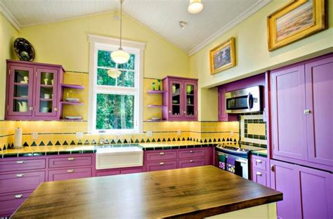 yellow kitchen cabinets eclectic kitchen 24 kitchens with jaw dropping cathedral ceilings page 4 of 5