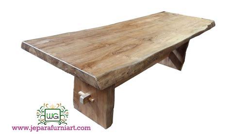 Meja Makan Jati Solid meja makan papan solid kayu jati wibowo gallery wibowo
