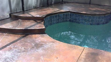 pool deck coating pool deck resurfacing pool deck
