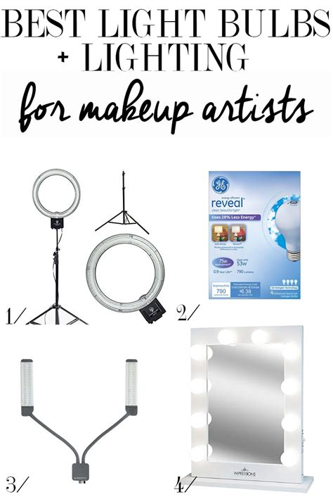 best lights for makeup best light bulbs for makeup artists citizens of beauty