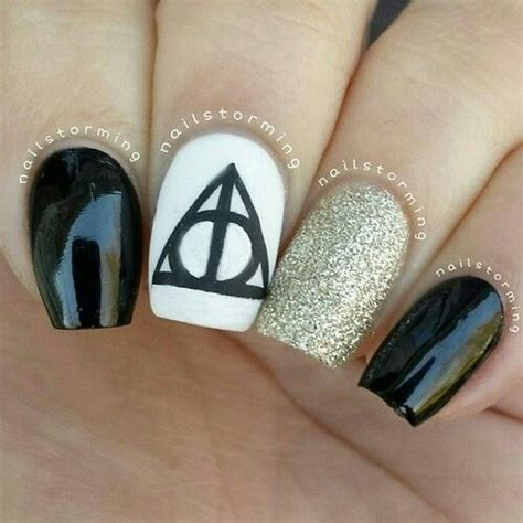 harry potter designs 15 magic harry potter nail designs pretty designs