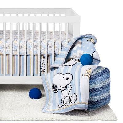 Peanuts 4 Piece Crib Bedding Set My Little Snoopy Target Target Crib Bedding Sets