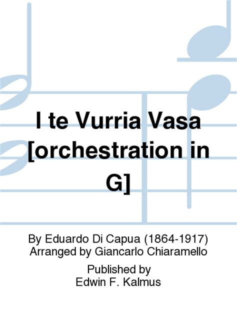 i te vurria vasa i te vurria vasa orchestration in g sheet by
