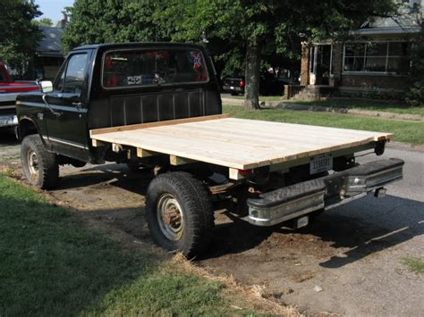wood truck bed plans flat bed plans ford truck enthusiasts forums
