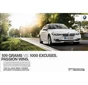 2012 BMW 3 Series F30 Marketing Campaign Passion Wins