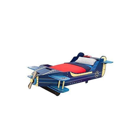 airplane toddler bed kidkraft airplane toddler bed in blue 76269