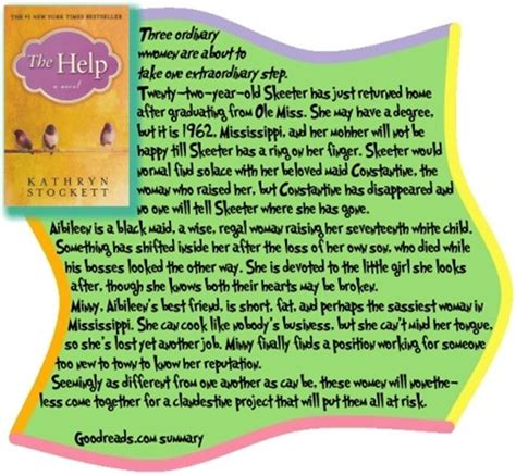 book report on the help review the help by kathryn stockett blogher