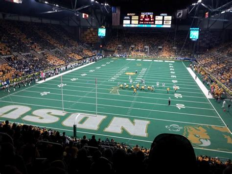 fargodome section  home  north dakota state bison