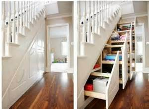 stairs storage ideas for small homes