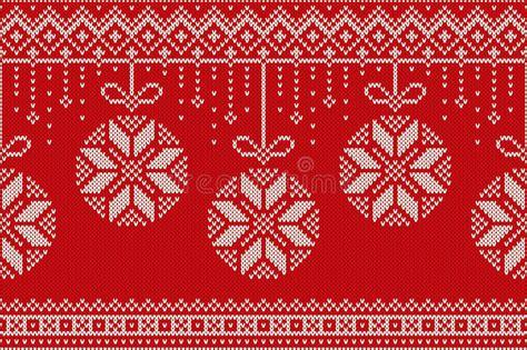 knitting holidays winter seamless knitting pattern and
