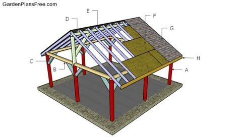 shelter house plans outdoor shelter plans free garden plans how to build