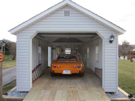 Small Car Ports by Amish Built Garages Garden Sheds Utility Buildings Small Barns In Lancaster Pa