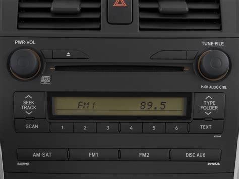 toyotapact car image 2009 toyota corolla 4 door sedan auto natl audio