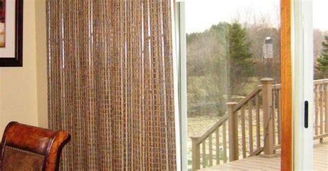 patio door window treatments provenance woven wood drapery hunter douglas dining room pinterest door window treatments hunter douglas