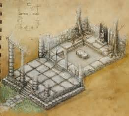 maps temple dungeon map archives fantastic maps
