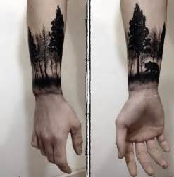 19 forearm tree tattoos