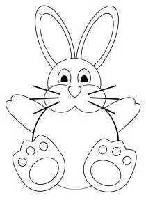 Easter Bunny Templates Printable by Free Printable Easter Bunny Coloring Pages