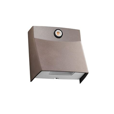daylight sensor for outdoor light juno msl series outdoor bronze led mini security light