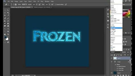 tutorial logo frozen club penguin photoshop tutorial how to create a frozen