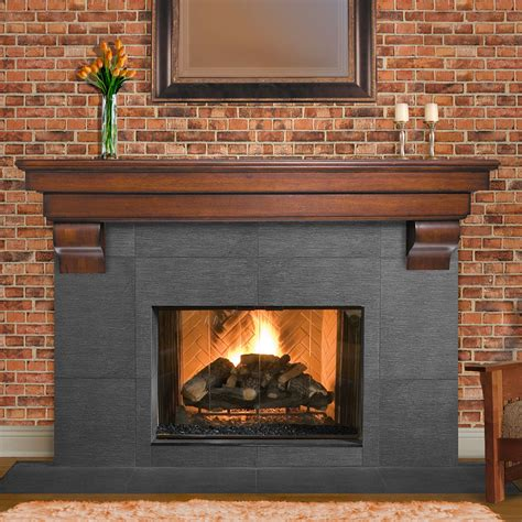 What Wood Is Best For Fireplace by How To Make Fireplace Mantel Shelf Home Decorations