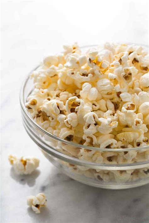 perfect popcorn   stovetop