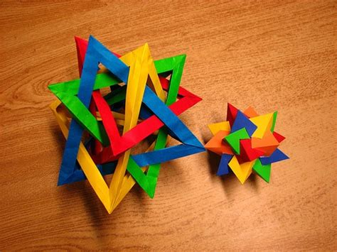 Math Origami - psychedelic math makes for some trippy origami
