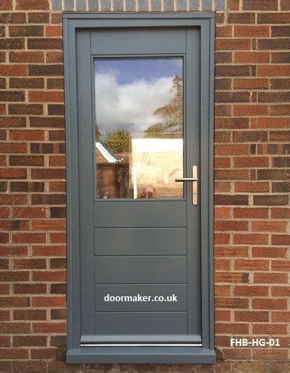 contemporary door half glazed interior barn doors
