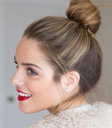 bun hairstyles for short hair video cute buns for short hair the best short hairstyles for